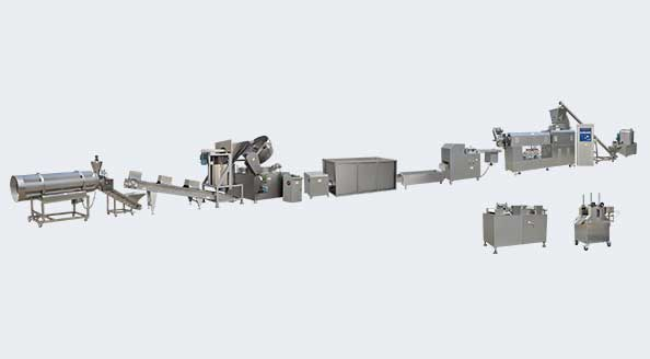 LT100单螺杆生产线