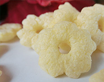 Puffed food