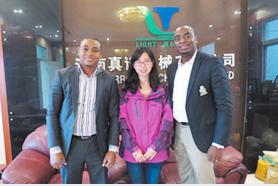 Nigerian partner client