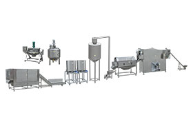 Automatic Continuous Popcorn Production Line