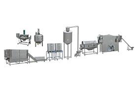 Automatic Continuous Popcorn Production Line