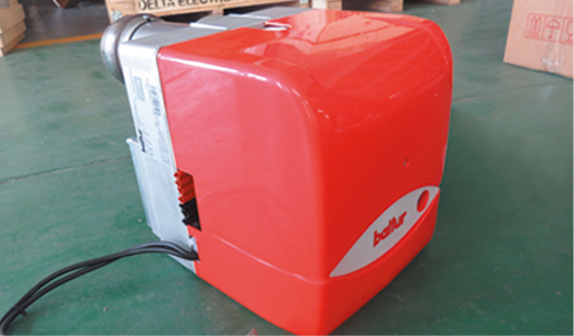 Equipped with an efficient and energy-saving combustion system, the heat source is distributed reasonably, the material is heated evenly, the energy consumption is low, and the output is large.