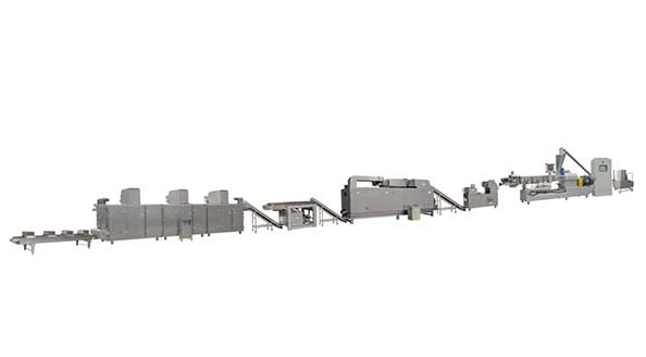 3D Pellet Snacks Process Line