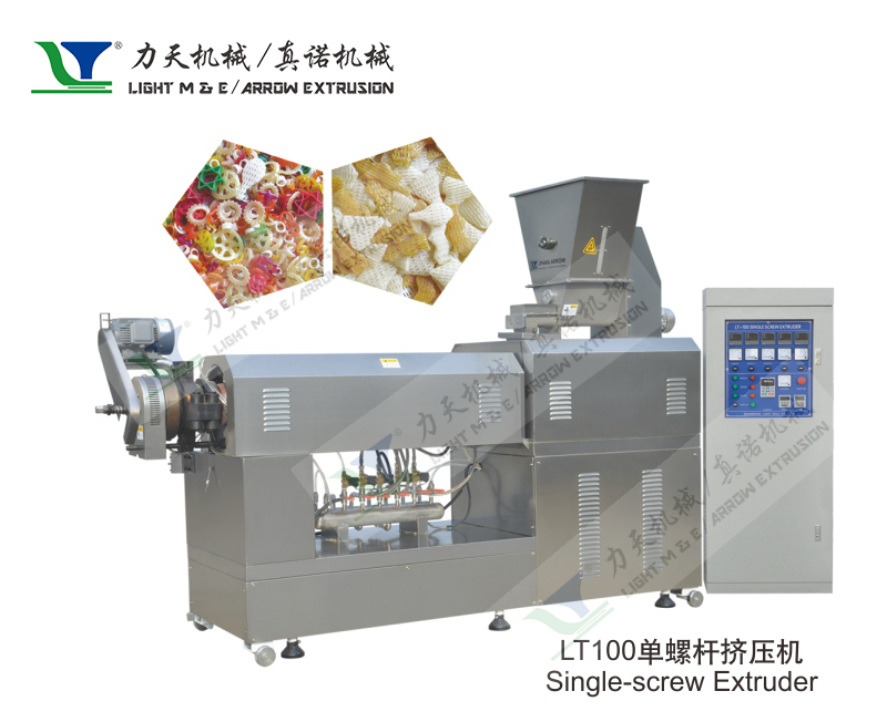 LT100 Single Screw Extruder for Dog Chewing -- Shandong Light.jpg